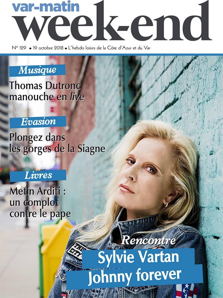 PRESSE - Sylvie en couverture de Var Matin et Nice Matin 44289310