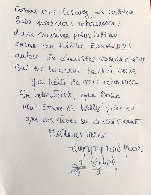 Vœux de Sylvie- exclusif 94554410