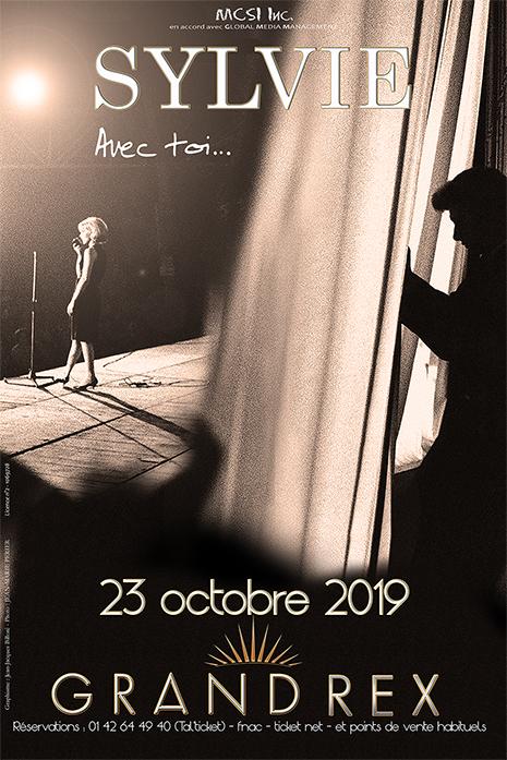 Sylvie au Grand Rex le 23 octobre 2019 - L'affiche ! Affich11