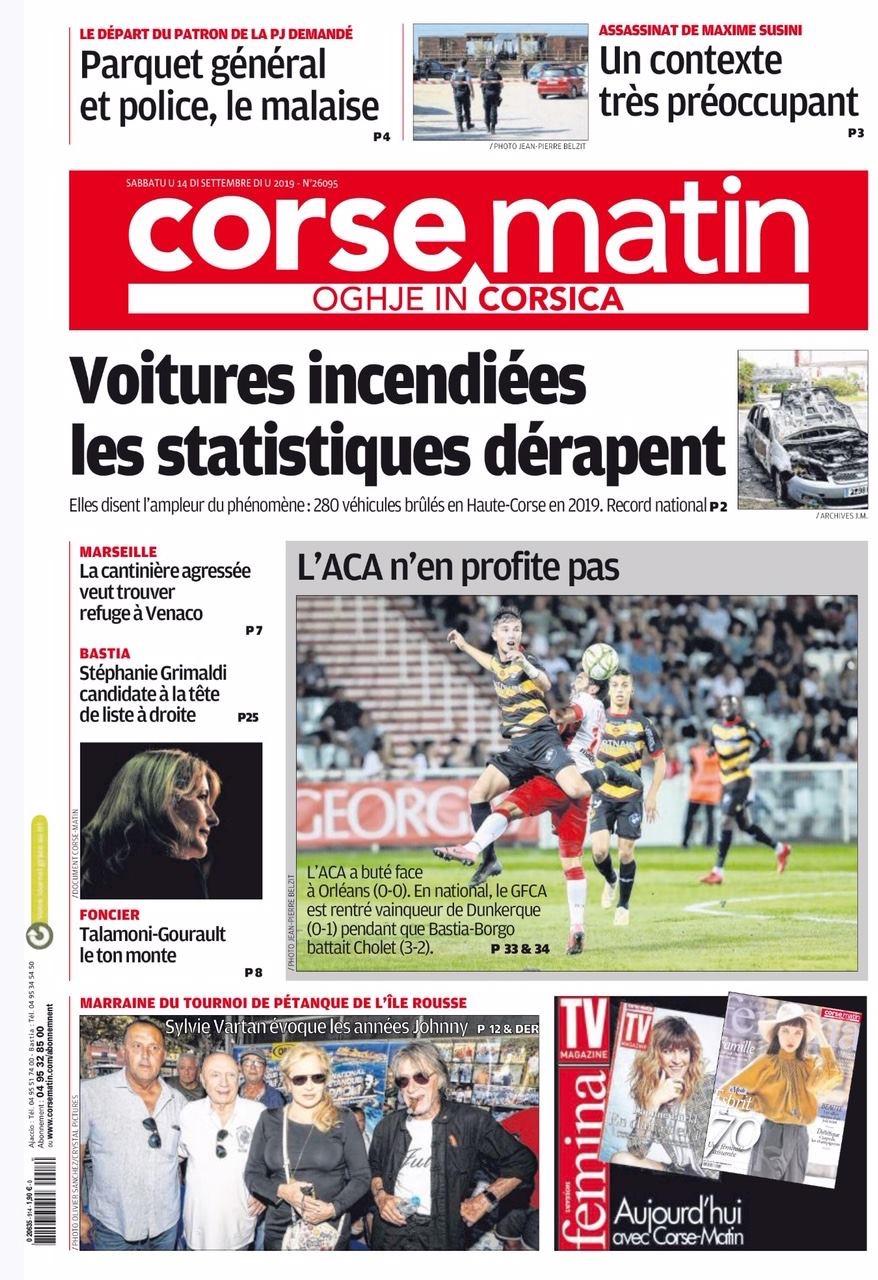 Couverture Corse Matin  D0dd1a10