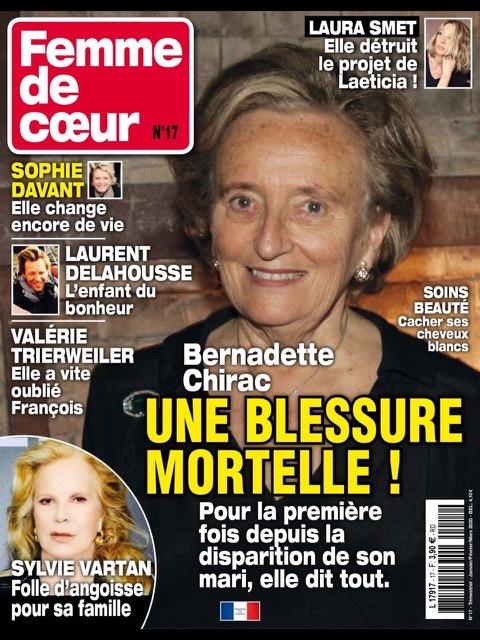 En couverture de Femme de cœur  F9663310