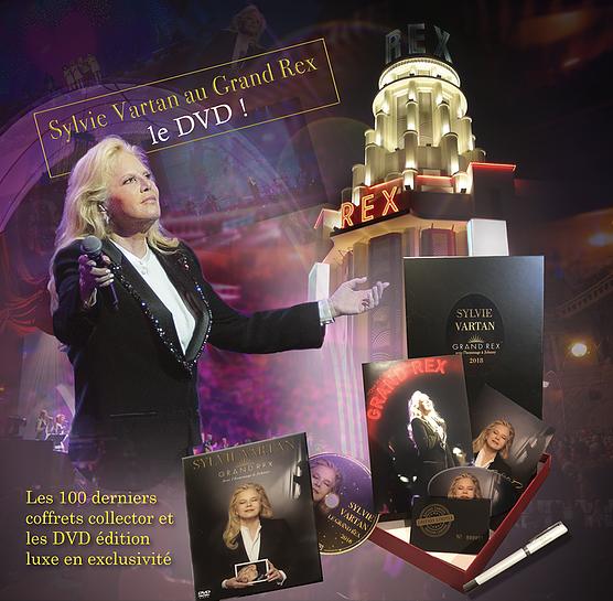DVD Grand Rex en vente sur le Web Front210