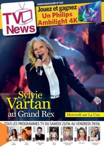 PRESSE - En couverture de TV News Img_0110