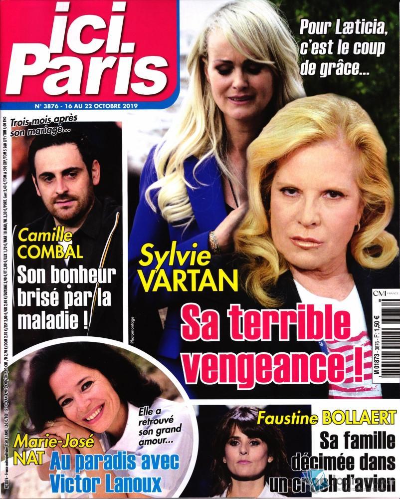 En couverture d'ici Paris du 16/10/2018 M1873_12