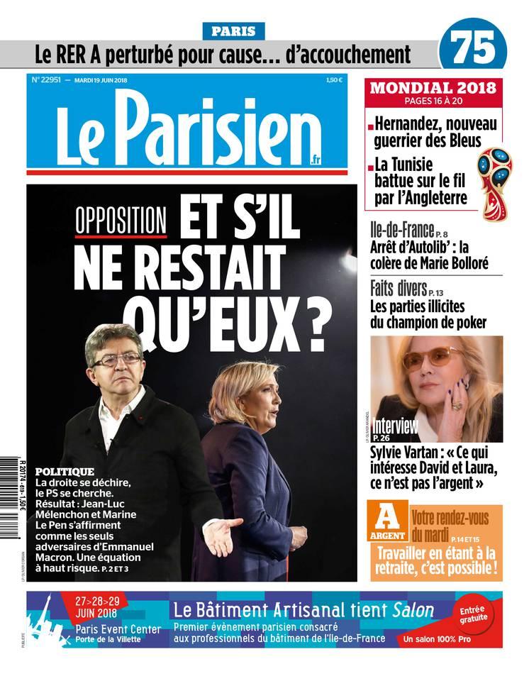 PRESSE - Aujourd'hui en France/Le Parisien du 19/6 Parisi10