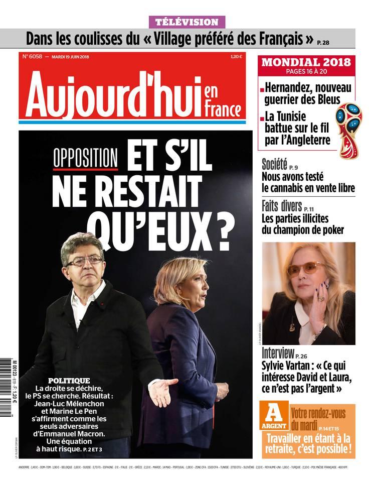 PRESSE - Aujourd'hui en France/Le Parisien du 19/6 Parisi11