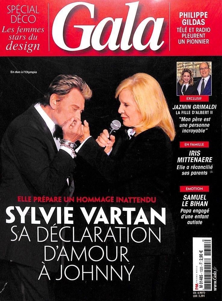 PRESSE - En couverture de Gala du 31/10/2018 S-l16010