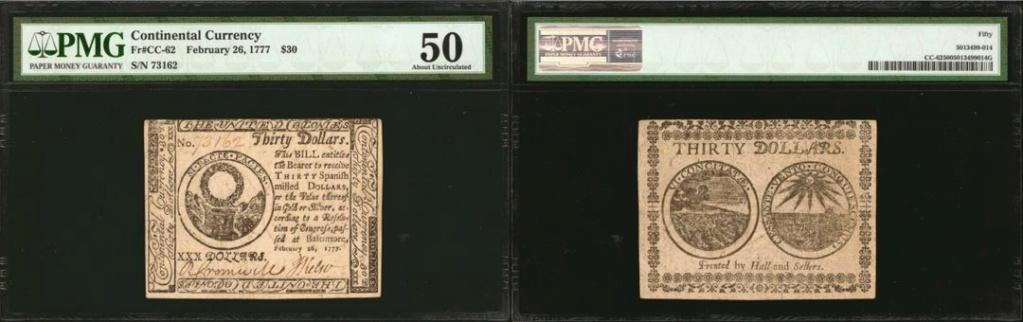 Dudas... 30 dólares pagaderos en moneda española - Baltimore, 1777 1777_b10