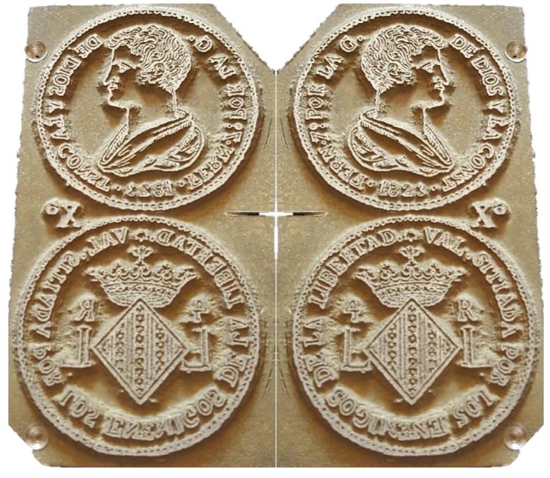 Planchas de grabado de monedas 4_fern10