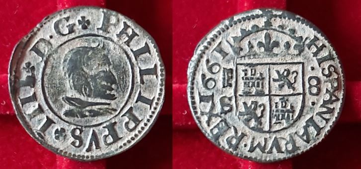 Felipe IV. 8 maravedís. 1661. Segovia 8_mara10