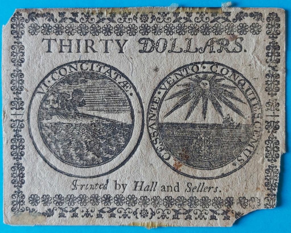 Dudas... 30 dólares pagaderos en moneda española - Baltimore, 1777 Billet13