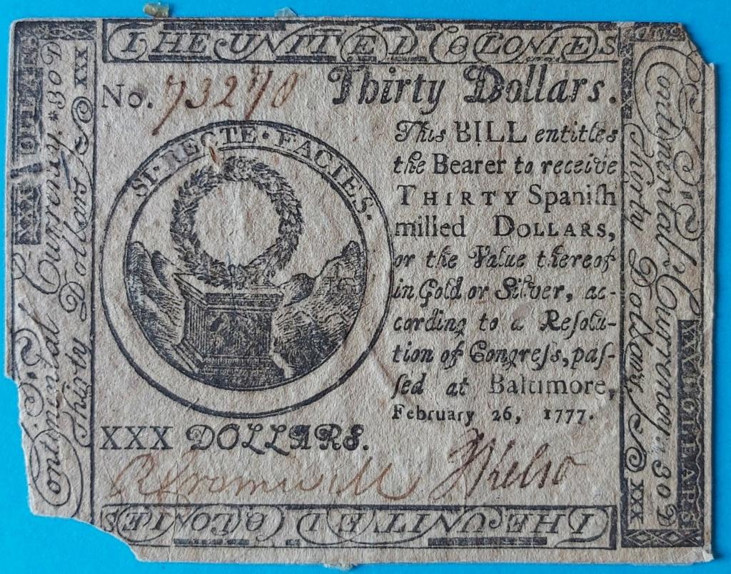 Dudas... 30 dólares pagaderos en moneda española - Baltimore, 1777 Billet14