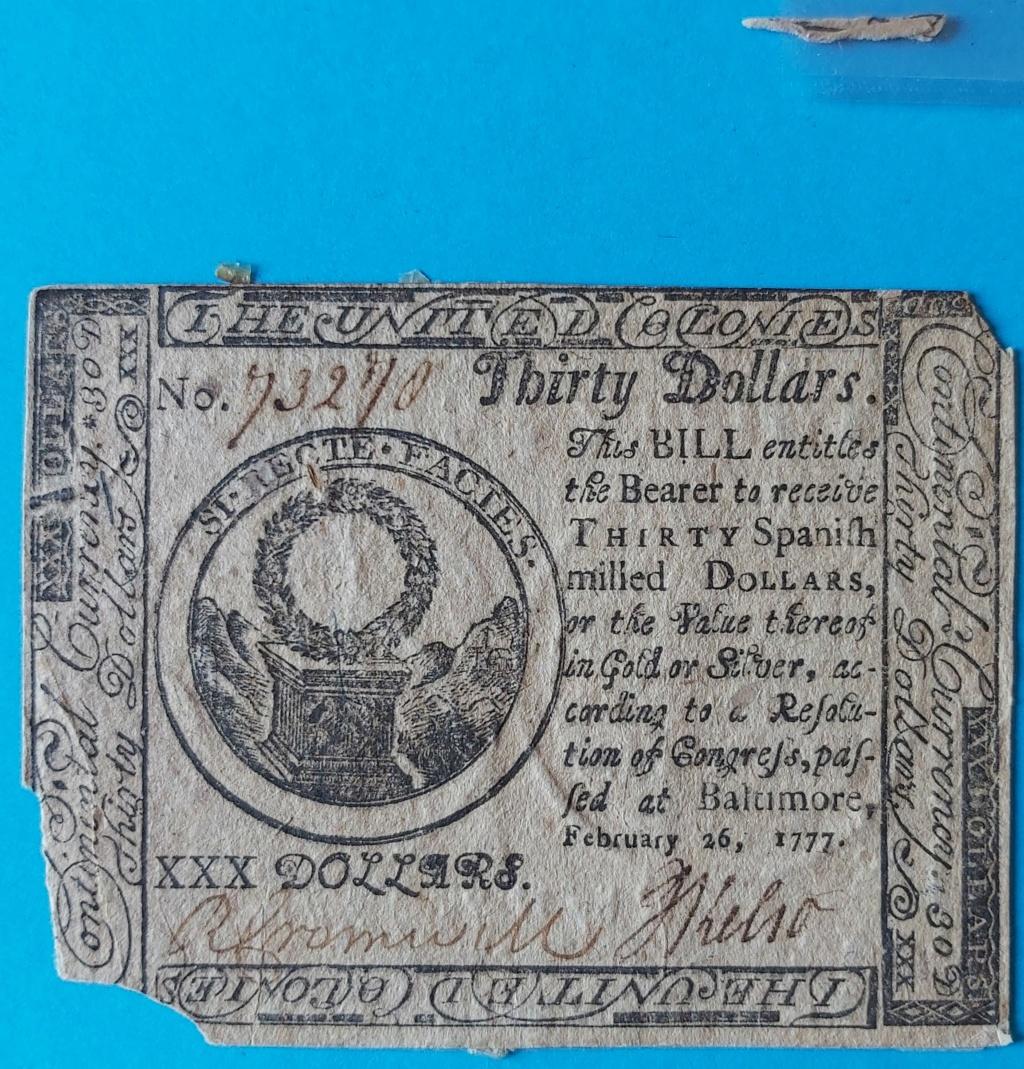 Dudas... 30 dólares pagaderos en moneda española - Baltimore, 1777 Billet19