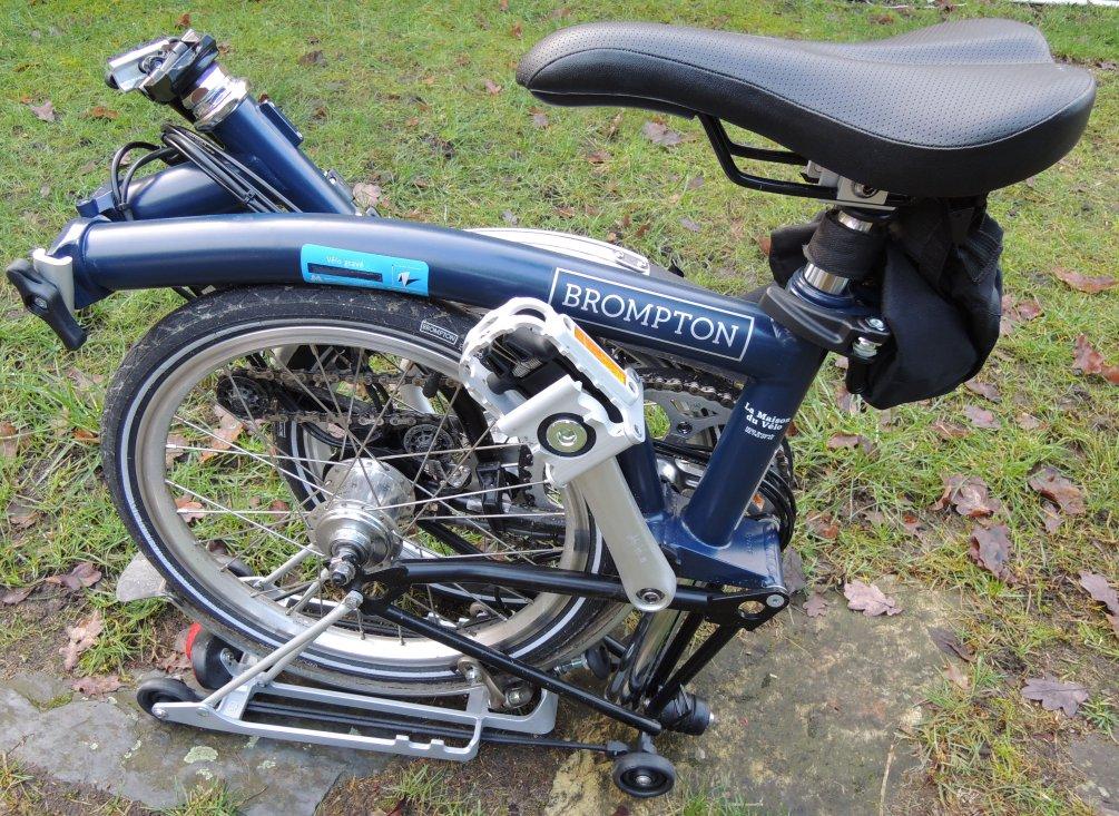 M6R+Shimano Bleu état neuf Brompt13