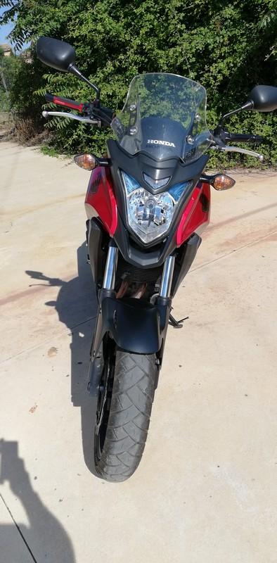 Vendo mi CB500X  - precio 3975€ - VENDIDA 1-fron10