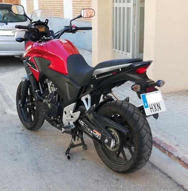 Vendo mi CB500X  - precio 3975€ - VENDIDA 11-dar10