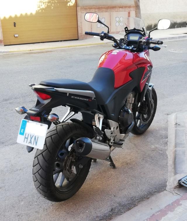 Vendo mi CB500X  - precio 3975€ - VENDIDA 12-dar10