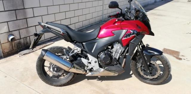 Vendo mi CB500X  - precio 3975€ - VENDIDA 2-dret10