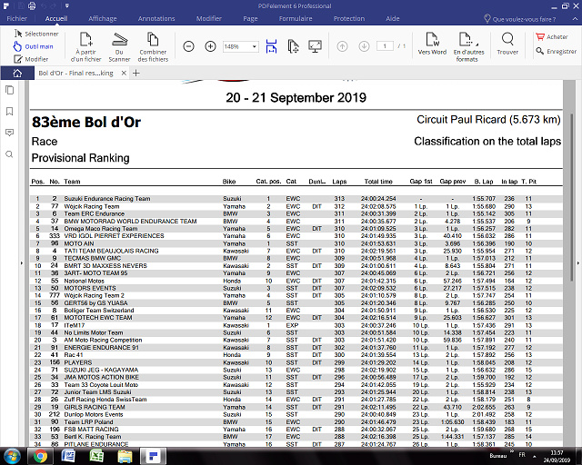Championnat du Monde d'Endurance 2020 Nouvel11