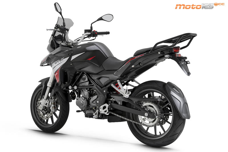 Nouvelle Benelli TRK 125: Benell16