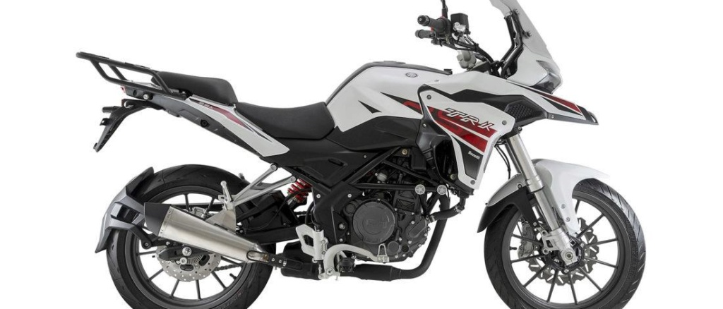 Nouvelle Benelli TRK 125: Benell18