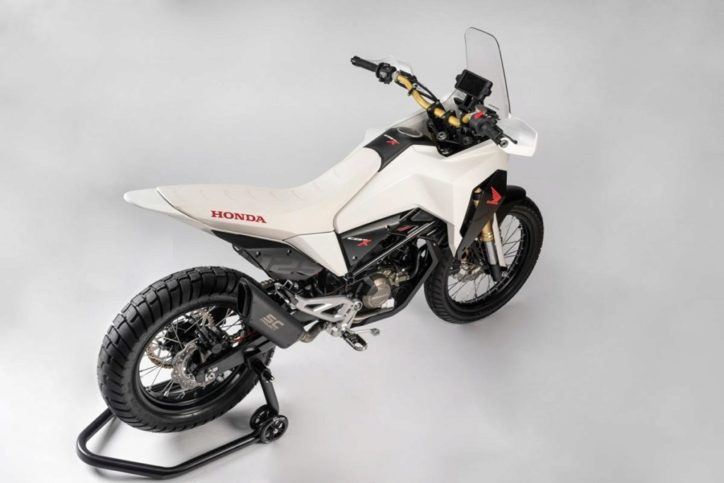 Honda CB125X et CB125M Concept: Honda-14