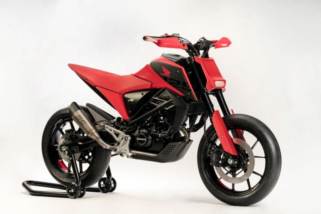 Honda CB125X et CB125M Concept: Honda-18