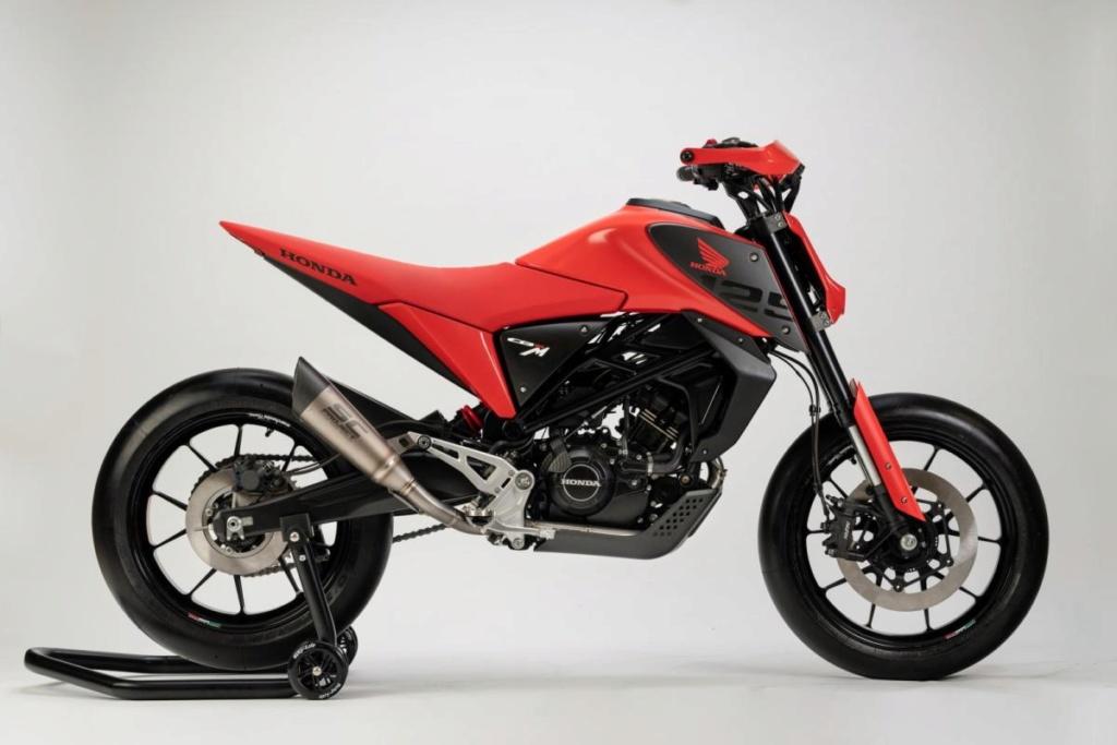 Honda CB125X et CB125M Concept: Honda-19