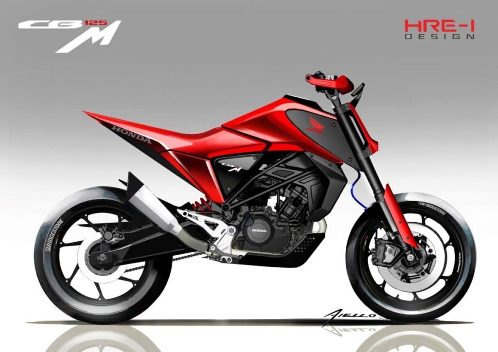 Honda CB125X et CB125M Concept: Honda-21