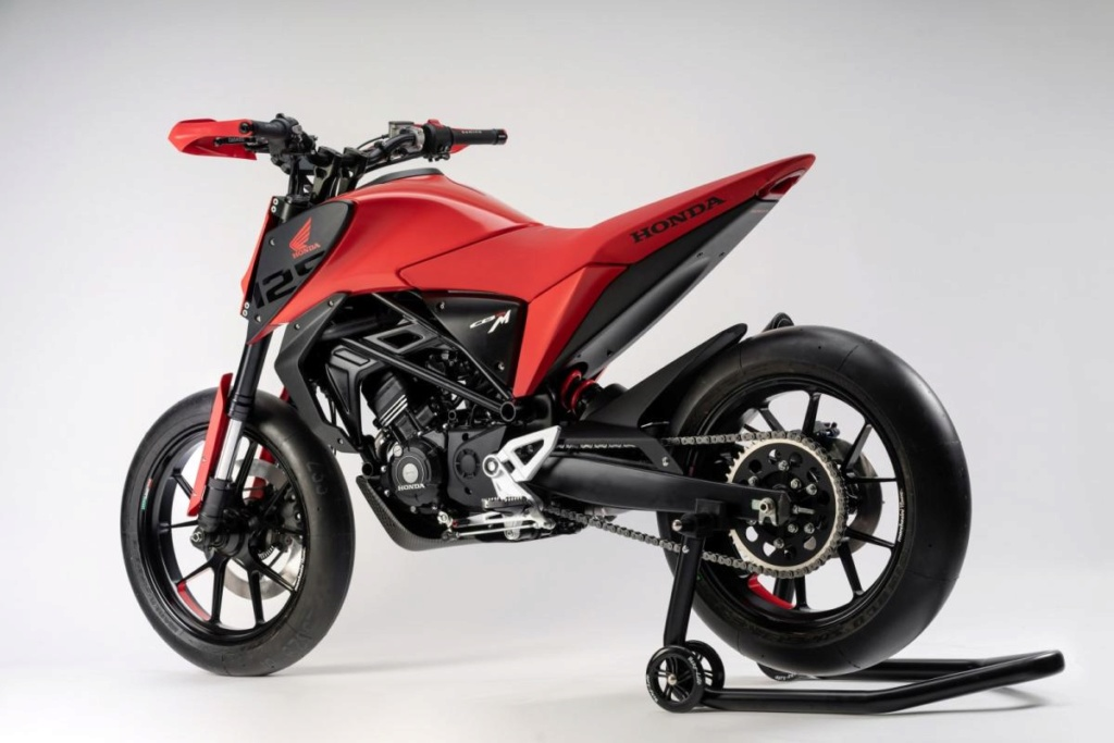 Honda CB125X et CB125M Concept: Honda-22