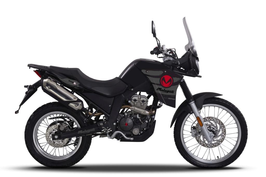Malaguti Dune X 125 Black Edition : Malagu19