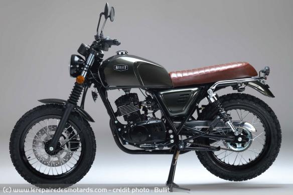 Nouvelle Bullit 125 Bluroc : Moto-r10