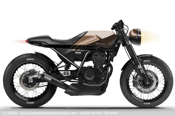 Nouvelle Brixton 125 Crossfire : Motos-10
