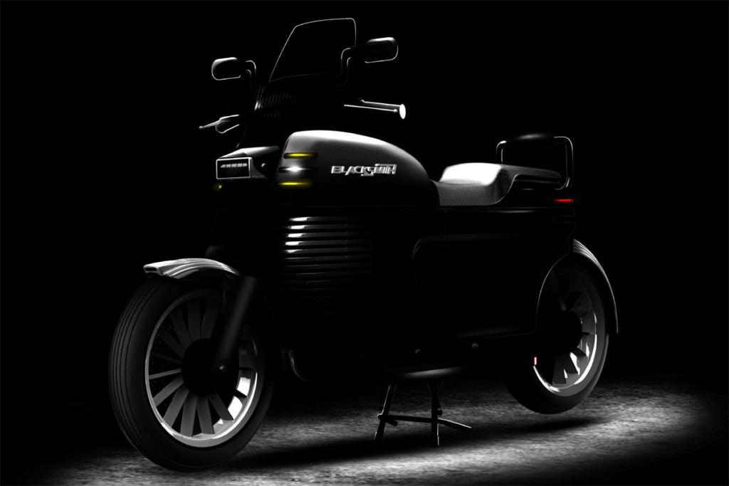 Blacksmith B2. Un autre prototype de moto electrique Indienne : Protot10