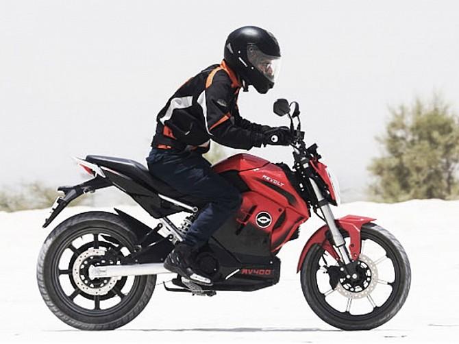 Revolt 400. Future moto electrique Indienne : Revolt12
