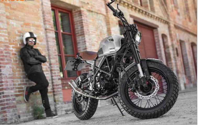 Nouvelle Mitt 125 DS Scrambler. Screen19