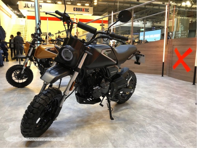 Nouvelle Brixton Crossfire 125 XS : Screen20