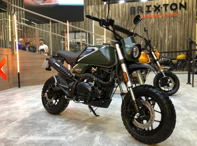 Nouvelle Brixton Crossfire 125 XS : Screen21