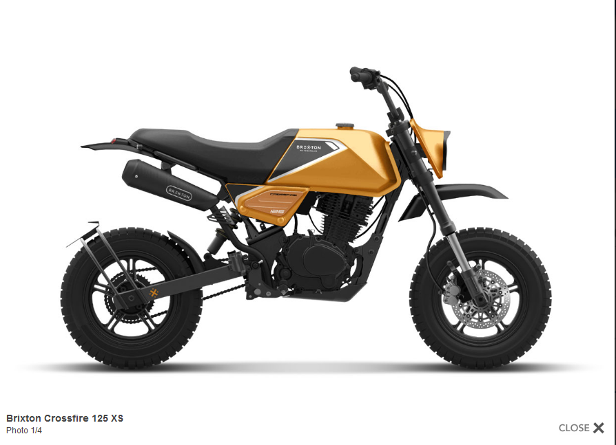 Nouvelle Brixton Crossfire 125 XS : Screen68