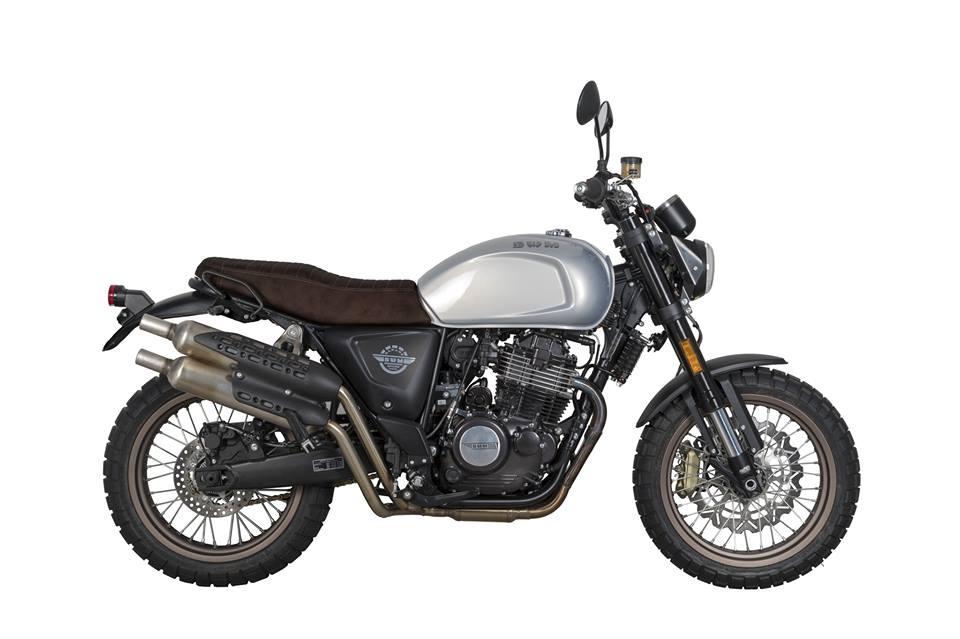 Nouvelle SWM 125 Gran Milano Outlaw: Swm44010