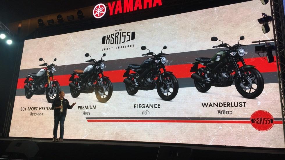 Nouvelle Yamaha XSR 155 : Z92bo110