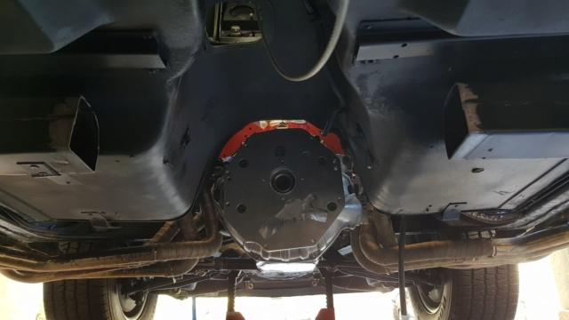Install de T56 sur ma Corvette 1969 20190313