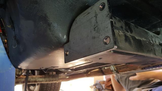 Install de T56 sur ma Corvette 1969 20190314