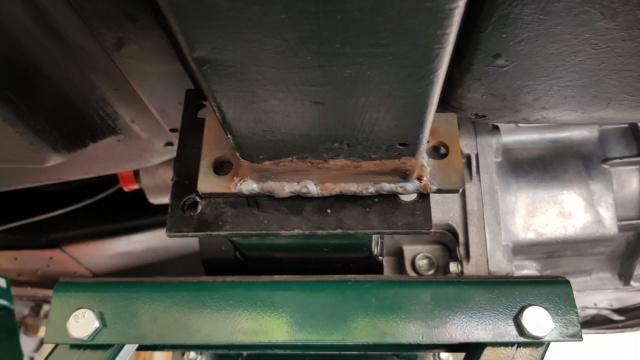 Install de T56 sur ma Corvette 1969 20190317