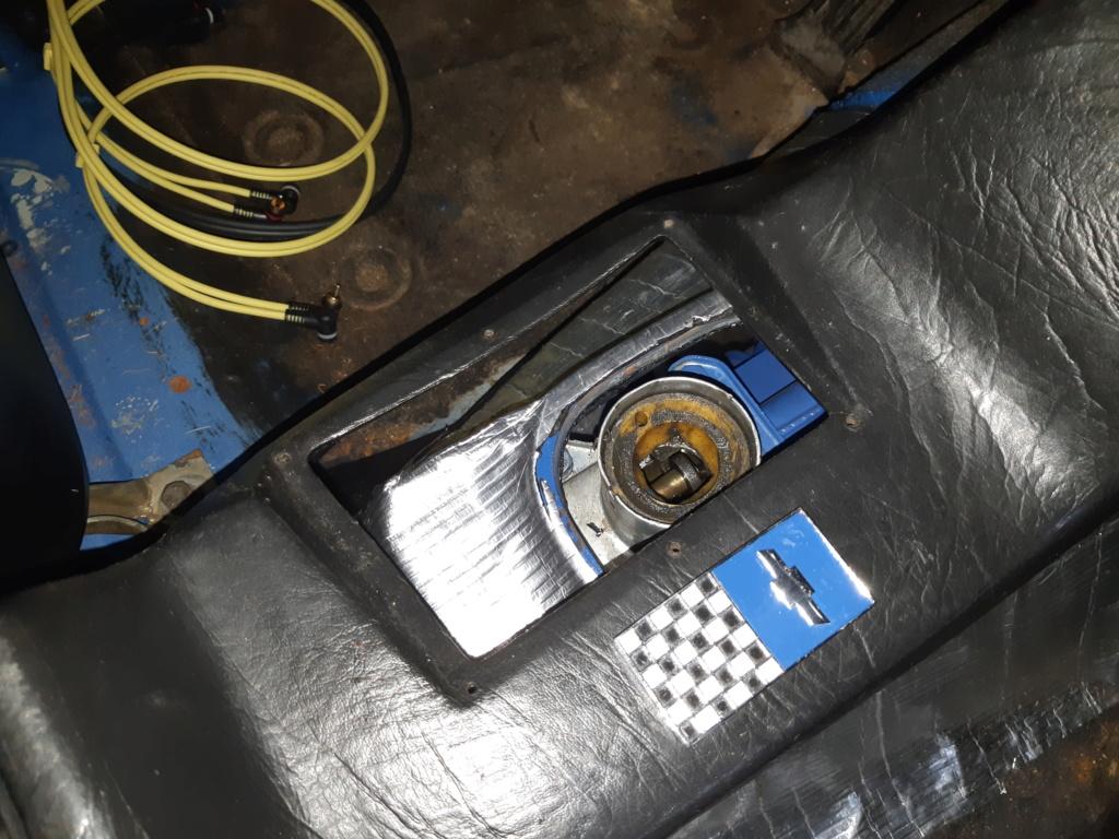 Instalação de Cambio CL 2205B em Opala 74 Cambio11