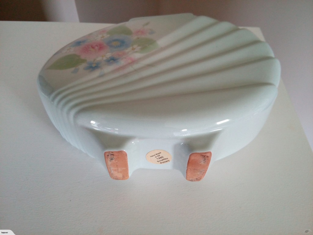 1280 - Scraffito Pottery Vase - Barry Ball 11812314