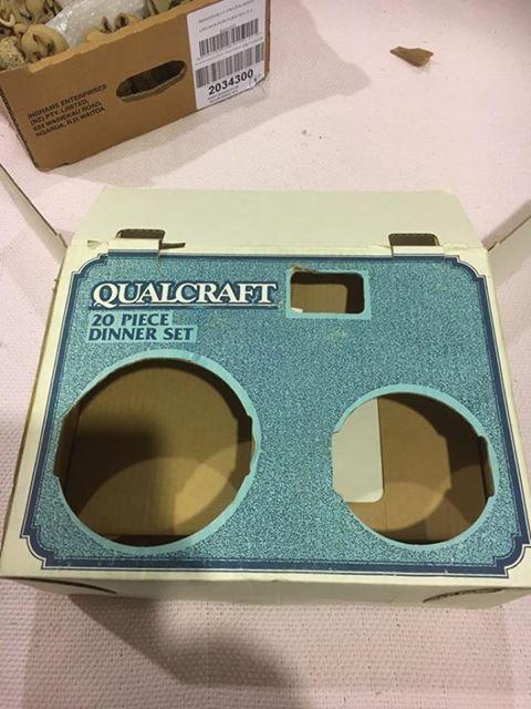 Qualcraft 20 pce dinner ware Abox_110