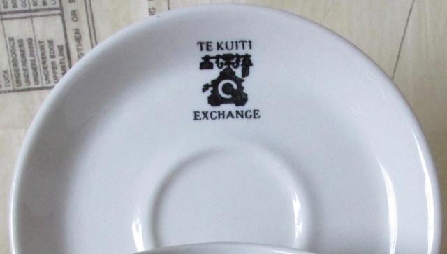 Te Kuiti Exchange Badged ware for gallery Img_6110