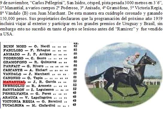 Hace 50 años - GRANDE PREMIO BRASIL - ESPICHE (Arg.) 1958_m10