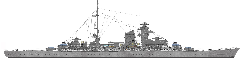 [TERMINE] Croiseur Prinz Eugen Trumpeter 1/700e, PE Flyhawk, pont en bois - Page 2 01_eug10